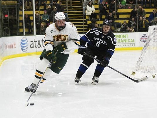 Bentley vs. Vermont Men's Hockey 12/31/16