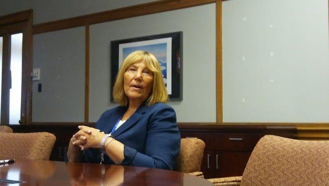 Barbara Pinsak has been the interim schools superintendent for the Montclair School District since March.
