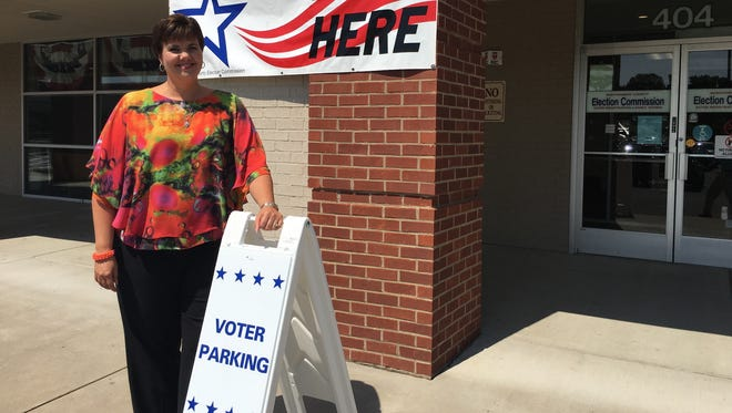 Elizabeth Black, Montgomery County administrator of elections, and her staff at the local Election Commission office were making final preparations Thursday for the next round of early voting.