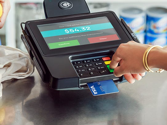 Merchants need special credit card machines capable