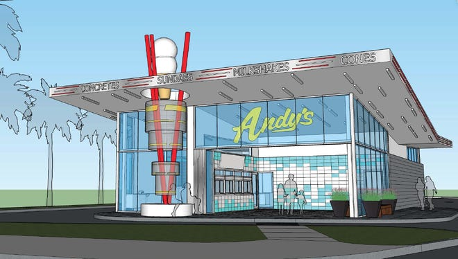 "A new Andy's Frozen Custard store expected to open in Orlando in March will be ""totally unique,"" according to a franchisee co-owner."