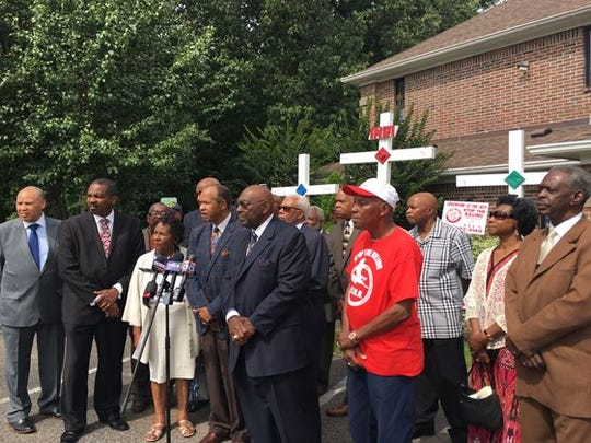 Area ministers in Memphis  hold press conference Wednesday