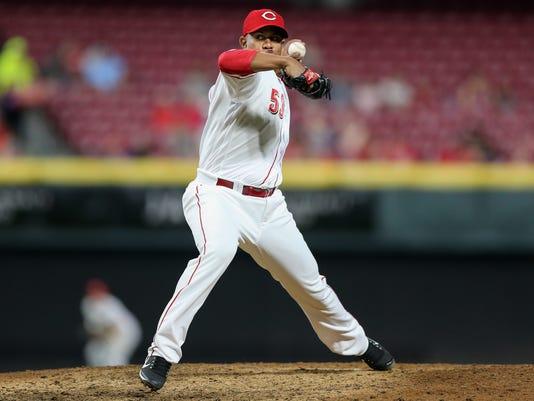 050818_REDS_789, Cincinnati Reds baseball