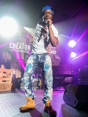 Wyclef Jean performs during the WeWork Celebrates The