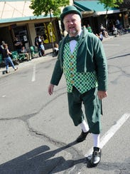 The 2014 St. Patrick's Day Parade on Saturday in Downtown