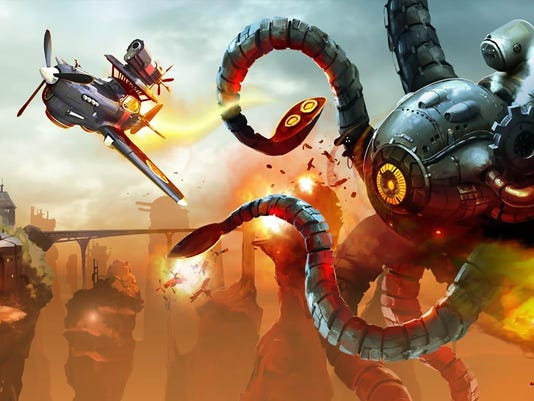 Sine Mora EX for PC, PS4, Switch and Xbox One.