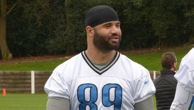 Detroit Lions tight end Kellen Davis
