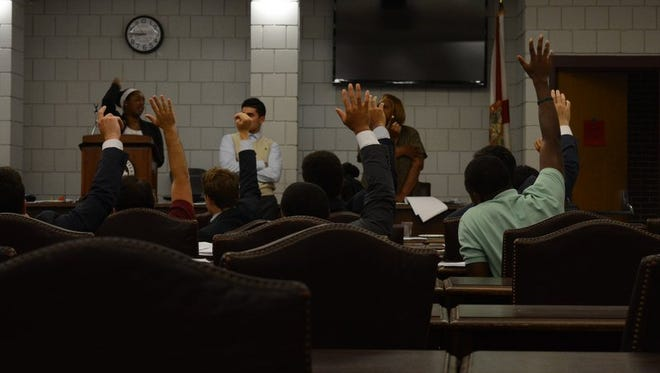 Senators voted on several pieces of legislation during the last meeting.