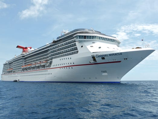The Carnival Miracle, built in 2004, is the fourth