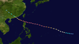 Super Typhoon Sally had 195 mph winds in 1964 and made landfall as a Category 4 in the Philippines.