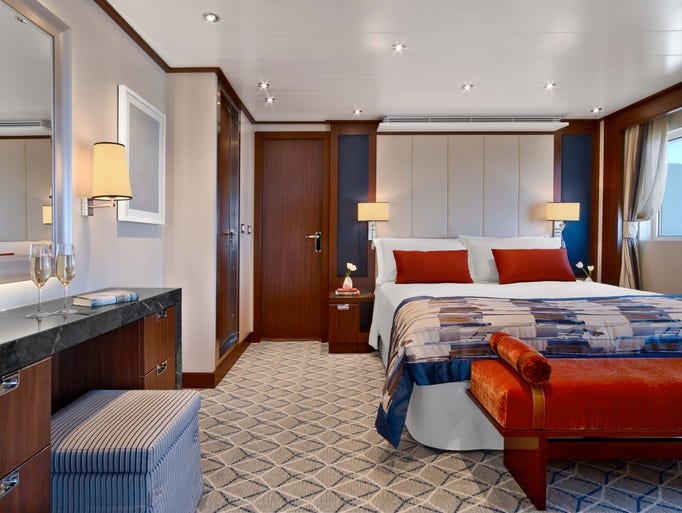 Living Large The Most Spectacular Suites At Sea