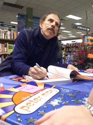 Acclaimed visual artist Peter Max, pictured at an East
