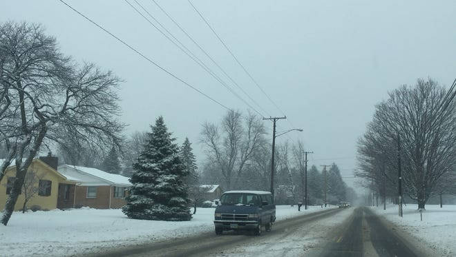 Due to snow and ice-covered roadways, Crawford County is under a level one snow alert.