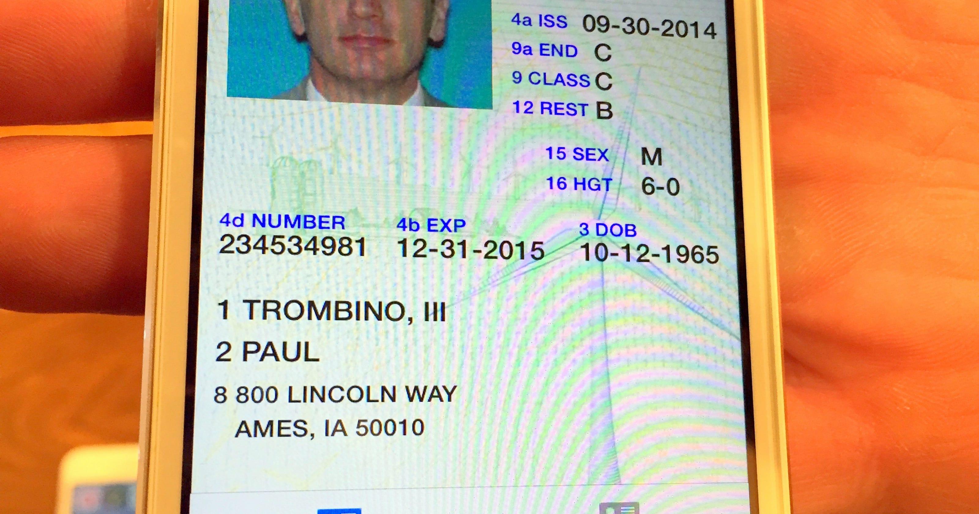 iowa dot drivers permit test