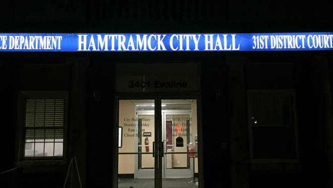 Hamtramck City Hall, photo taken on Sept. 26, 2017