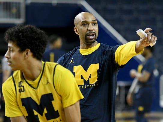 Saddi Washington has been an assistant coach at Michigan