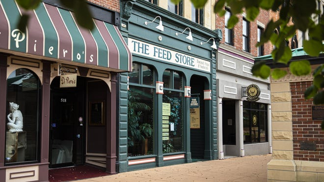 The Feed Store first opened on the south side of the Old State Capitol Plaza in 1977.