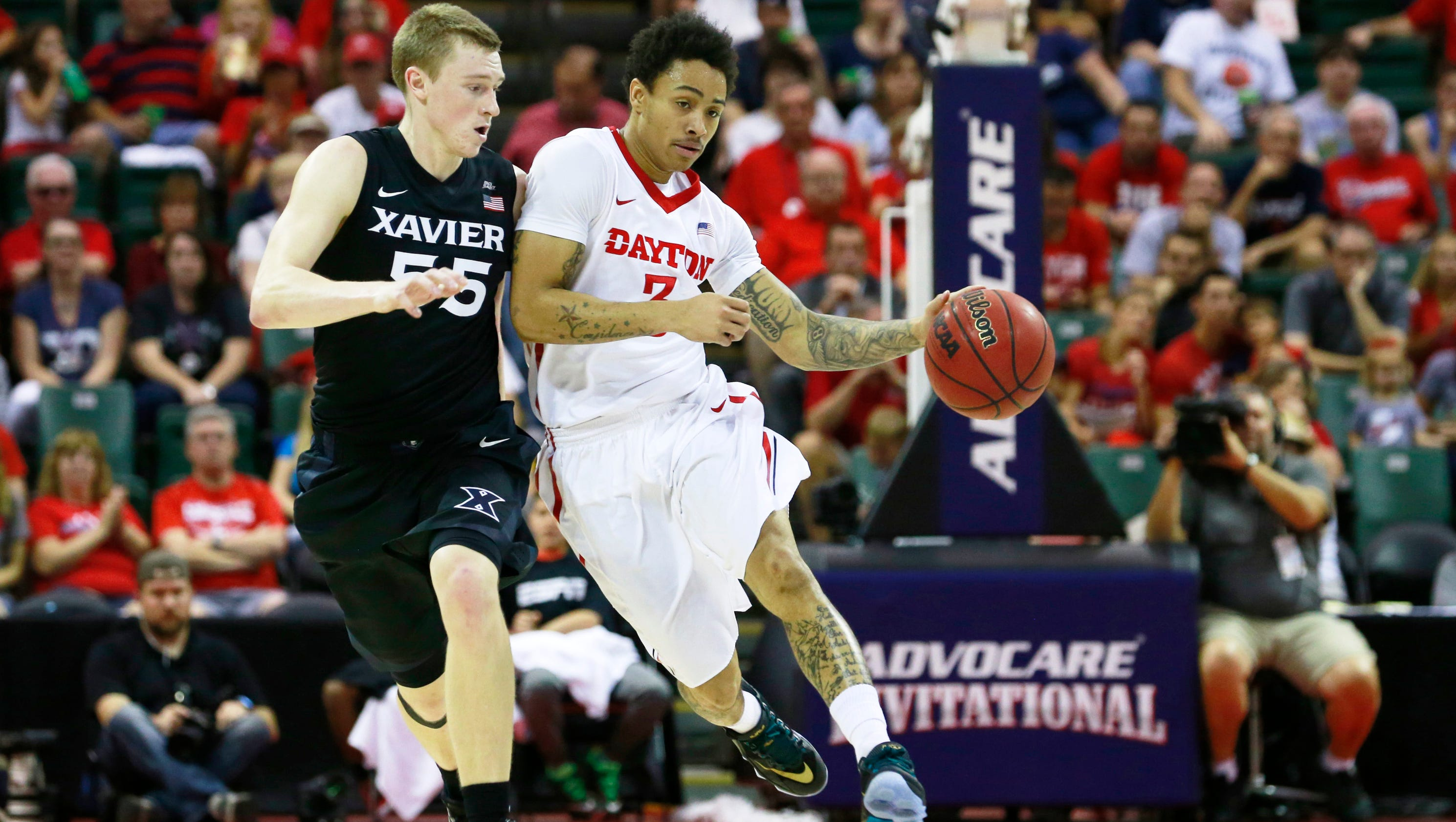 Bracket Watch: No. 8 Dayton vs. No. 9 Xavier #713126