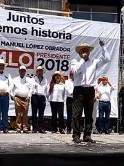 Antes, en el Municipio de Jerez, Zacatecas, Andrés
