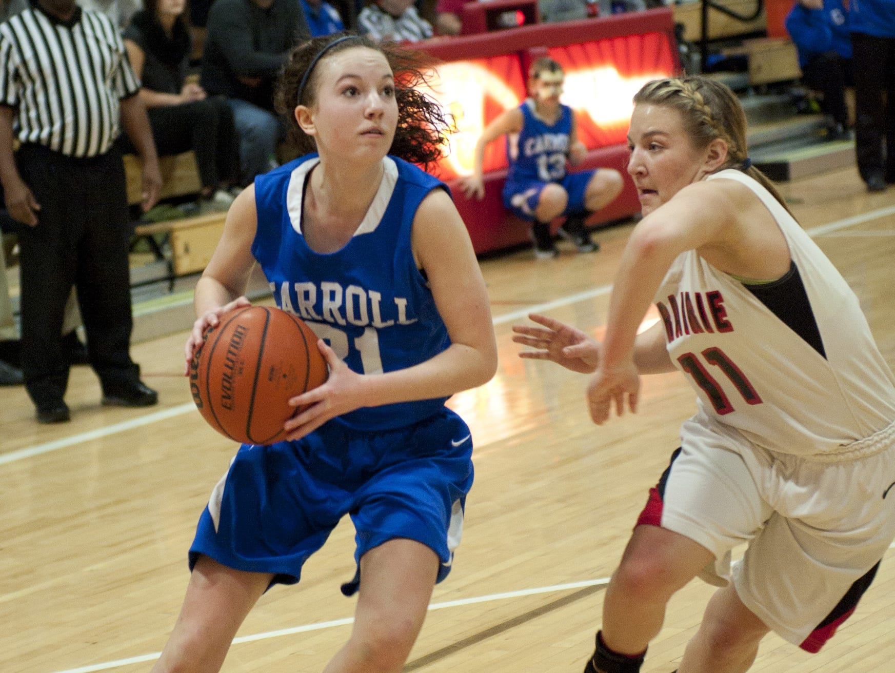 Carroll's Macy Willoughby.