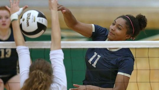 FILE — Cathedral's Nia Robinson helped lead the Irish back to the Class 4A state title match.