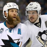 Two of the game's best centers, Joe Thornton (Sharks) and Sidney Crosby (Penguins), will be squaring off in the Stanley Cup Final.