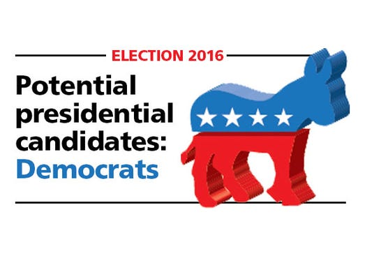 Potential Democratic Presidential Candidates for 2016