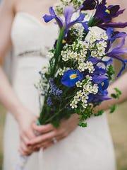 Iris in a Bouquet