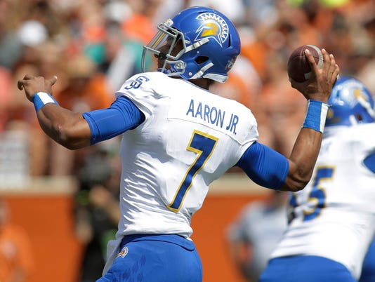 NCAA Football: San Jose State at Texas