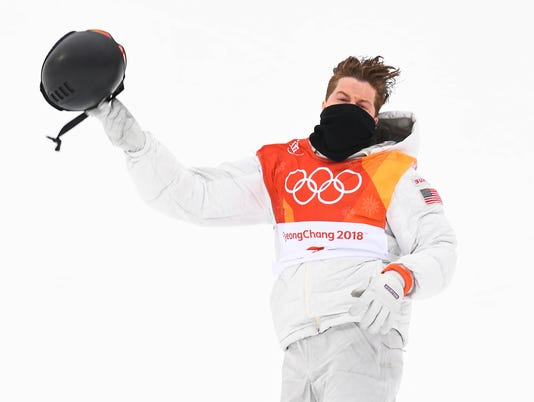USP OLYMPICS: SNOWBOARD-MENS HALFPIPE FINAL S OLY KOR