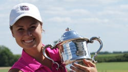 Megan Furnish holds Women's State Amateur trophy for second straight year