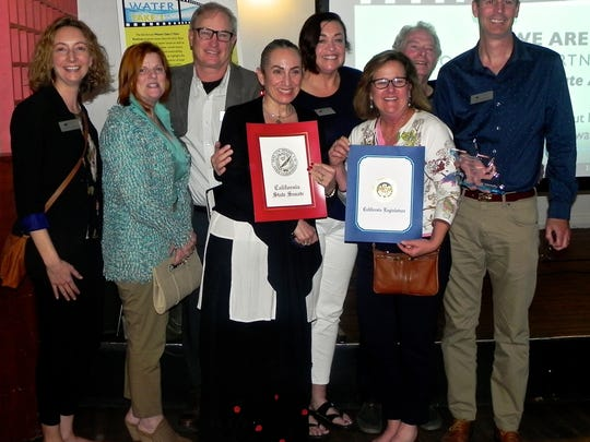 The Ventura Land Trust received the Community Organization Award for its work in the community.