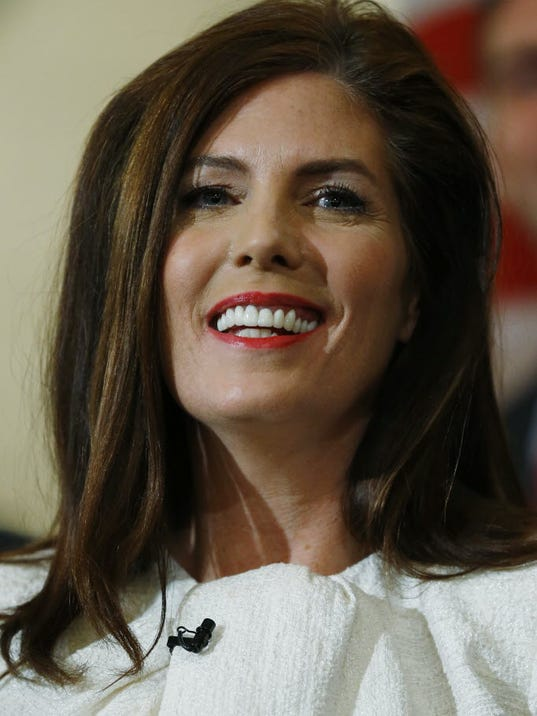 Pennsylvania Attorney General Kathleen Kane (AP Photo/Matt Rourke