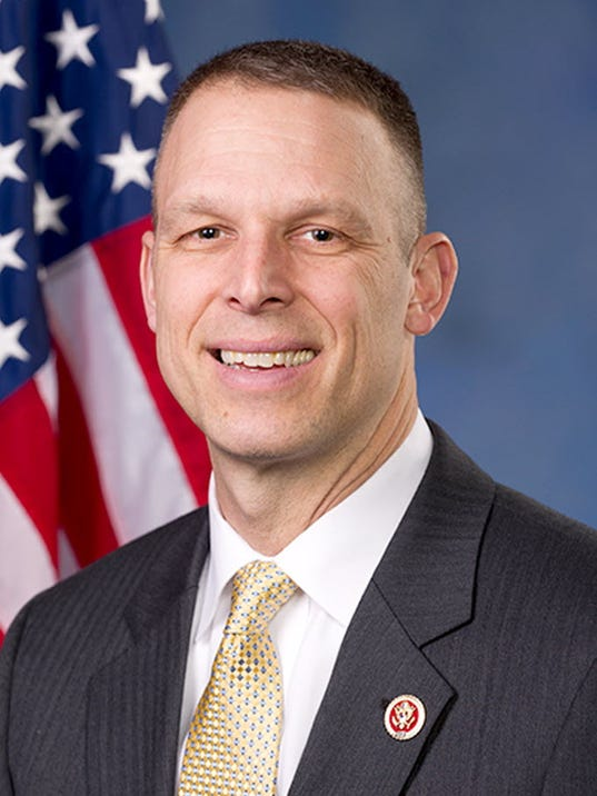 U.S. Rep Scott Perry, R-Carroll Township, in an official portrait.