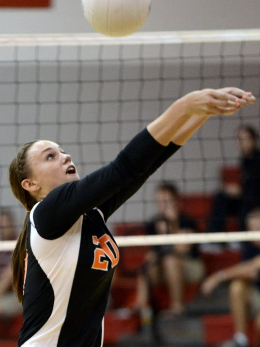 Erin Dobbeck and Central York have a big week of volleyball, starting with defending division champion Susquehannock visiting on Tuesday and a trip to Cumberland Valley's tournament on Saturday. (GAMETIMEPA.COM -- FILE)