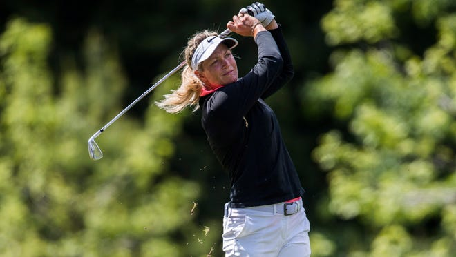 """Suzann Pettersen said during an interview that President Donald Trump """"cheats like hell"""" in golf."""