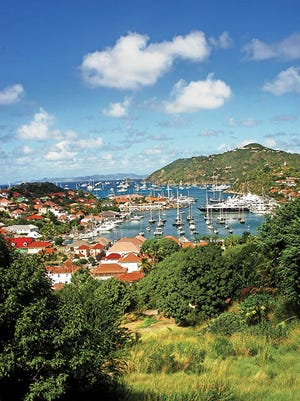 The horseshoe-shaped harbor of Gustavia has been an active port since the 18th century. Today, yachts of the rich and famous are more likely to dock here than schooners carrying provisions.