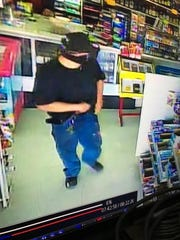 The Reno Police Department is looking for the suspect that robbed a Go-Fer Market with a knife and gun Saturday, Sept. 24, 2016.