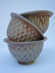 Bev Todd's pottery is included in the annual studio