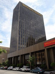 The 21-story Wells Fargo office building is located at 221 N. Kansas in Downtown El Paso.