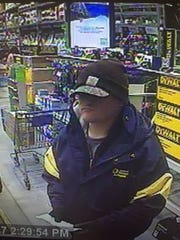 Man sought for theft or tools from Lowe's store in
