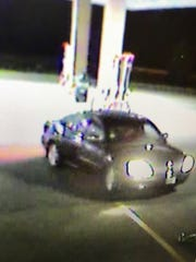 Johnston police are seeking this car in connection