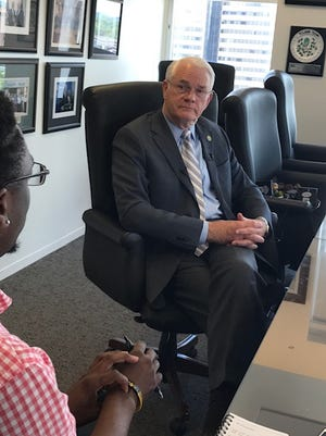 Shelby County Mayor Mark Luttrell explains Shelby County's reasons for requesting to be removed from DOJ oversight in how it treats juveniles.