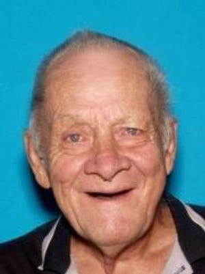 elderly man reported missing
