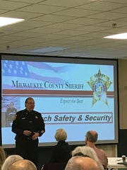Milwaukee County Sheriff Richard Schmidt discusses