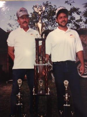 Lonnie and Eddie Chesser
