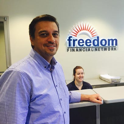 Kevin Gallegos oversees the Tempe office of Freedom