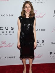 Director Sofia Coppola attends the premiere of Focus