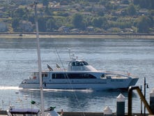 First voyage of new Seattle-Bremerton fast ferry