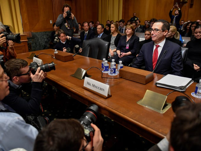 Steven Mnuchin, nominee for secretary of the Treasury,